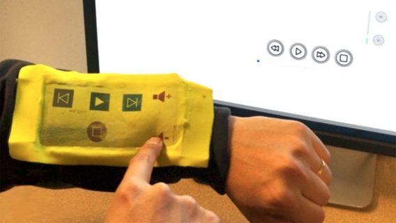iSoft wearble tech controller from Purdue University