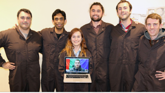 The Boilers2Mars team from Purdue University
