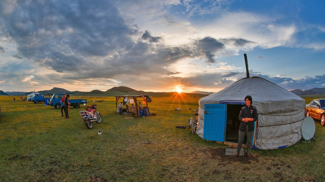 Nomadic peoples in Mongolia