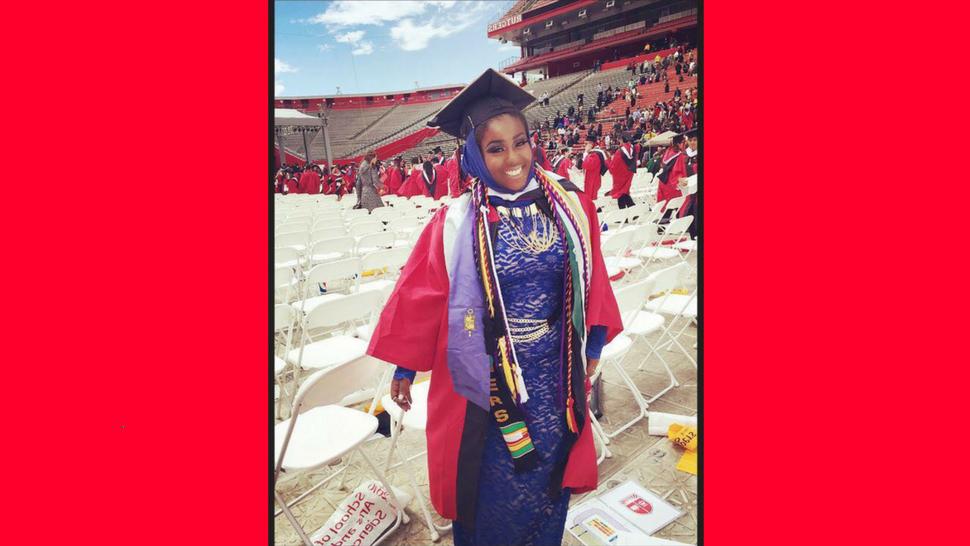 Rutgers University graduate student Shaheena Shahid