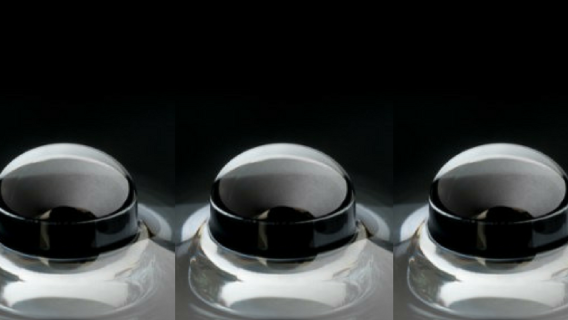 Northwestern University's 3D-printed lens for mobile device cameras.