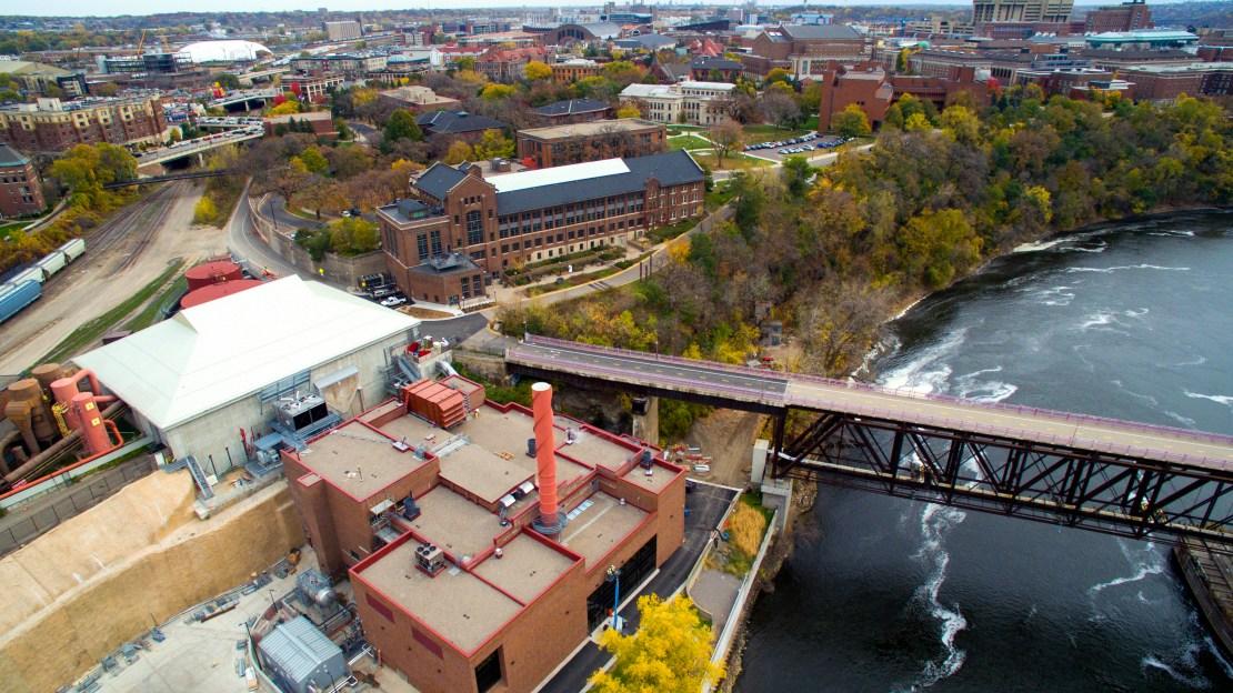 The Main Energy Plant at the University of Minnesota
