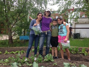 Volunteers at the Columbia Heights Green