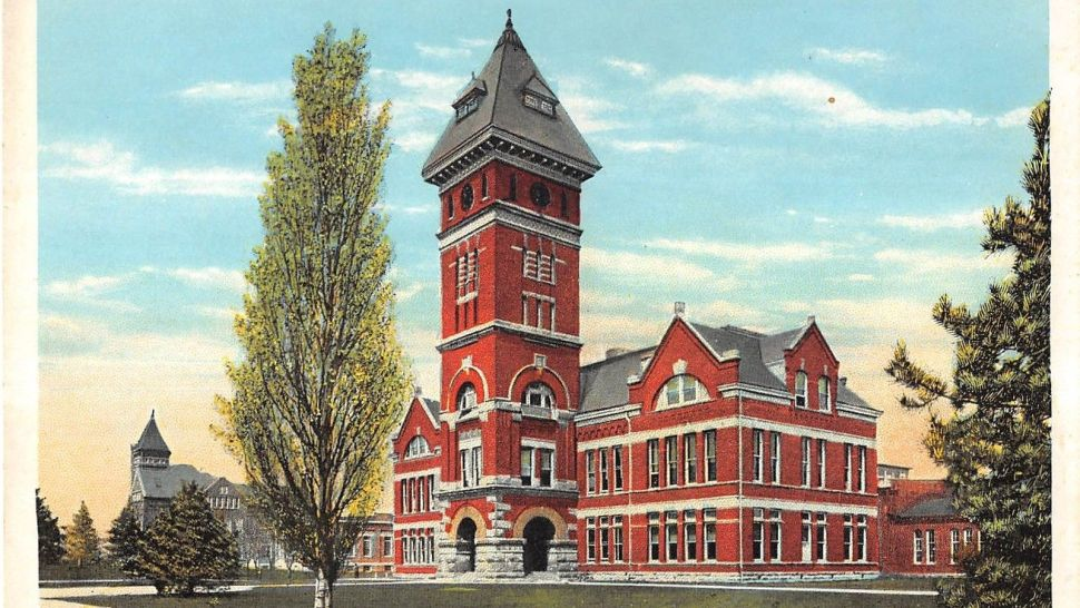 Purdue University's Heavilon Hall