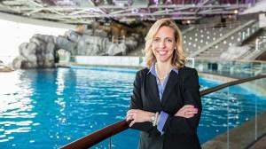 University of Iowa alum and Shedd Aquarium CEO Bridget Coughlin
