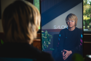 Penn state information technology student has created a smart mirror that may revolutionize the salon industry