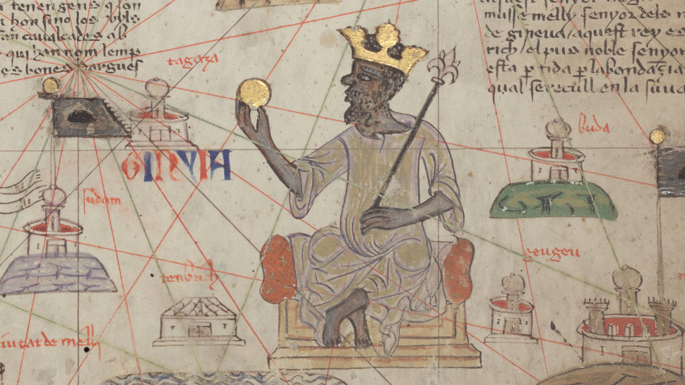An image of Malian emperor Mansa Musa