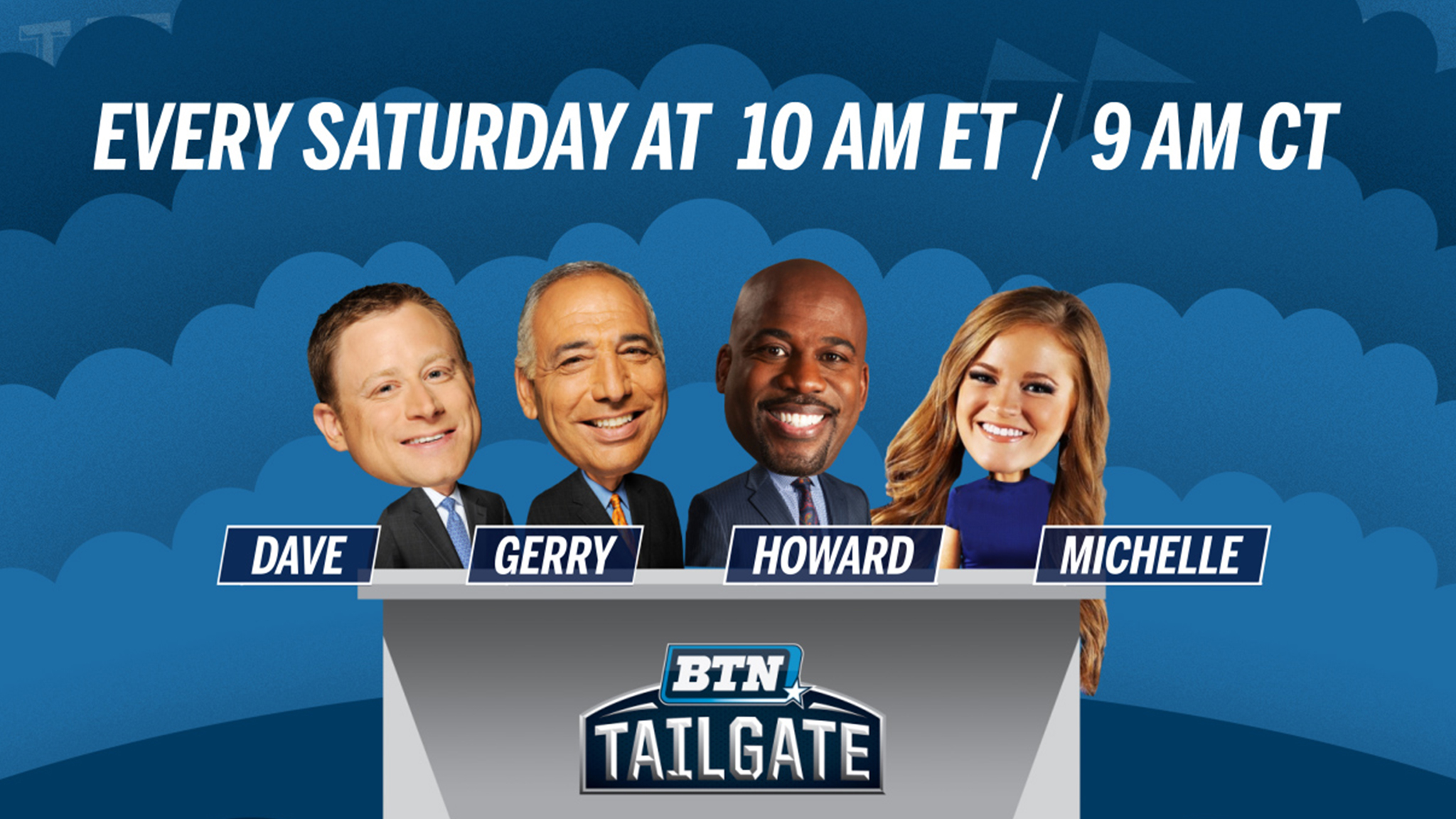 First 6 BTN Tailgate Sites Announced