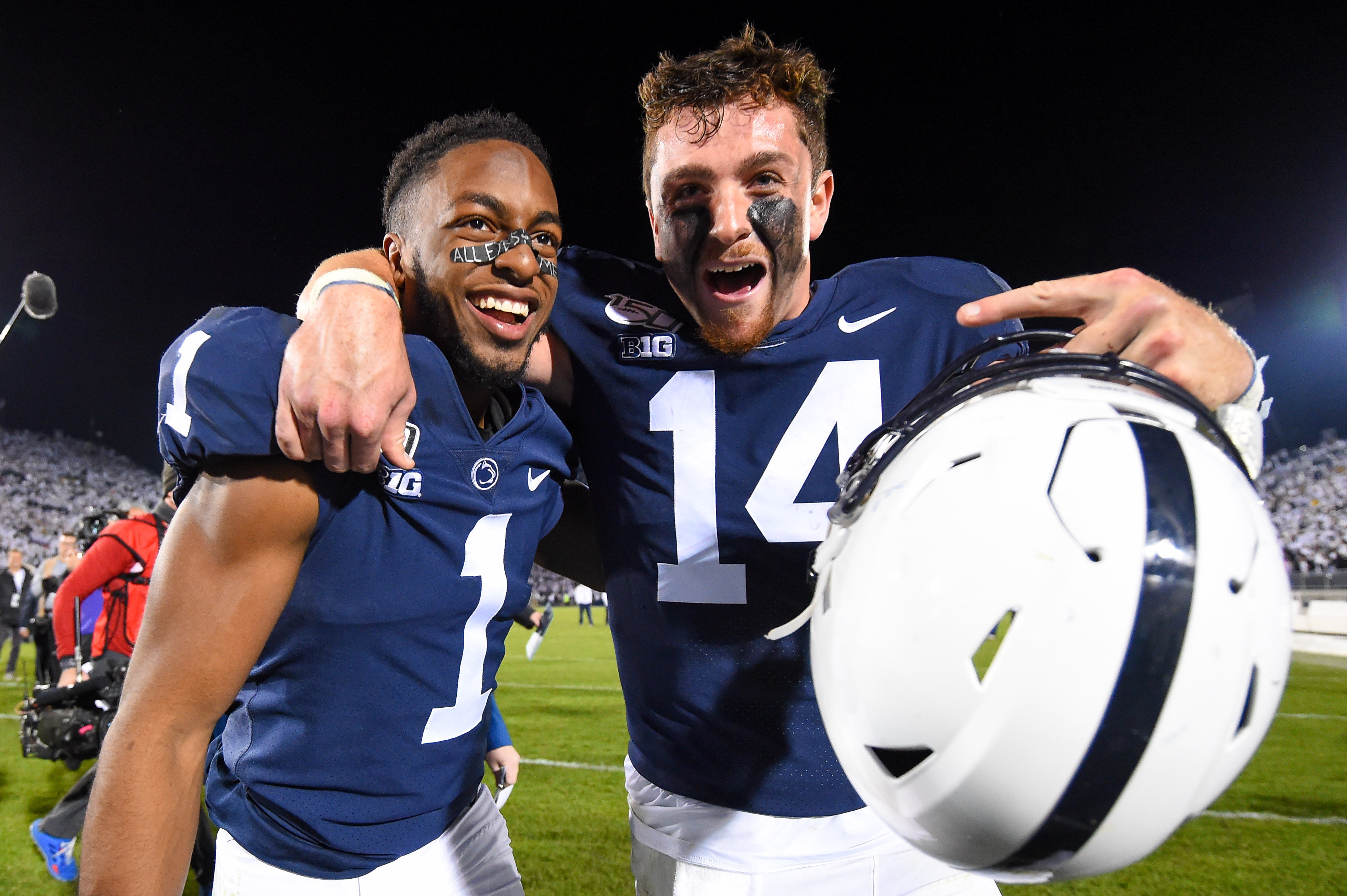 Ohio State, Penn State move up in latest AP top 25 poll