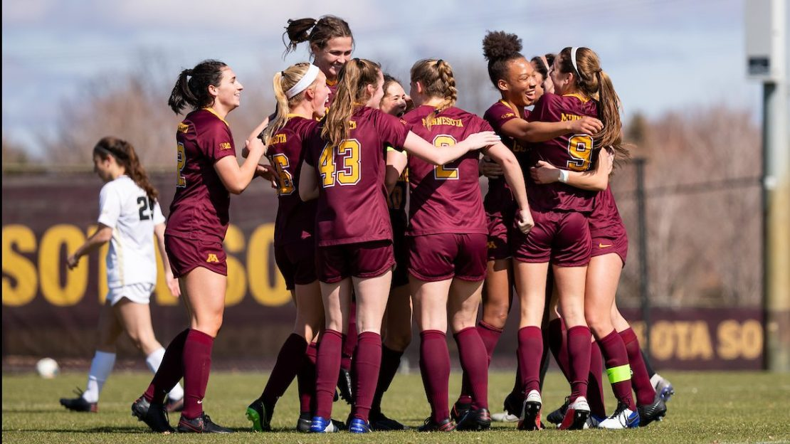Track the women's soccer tourney