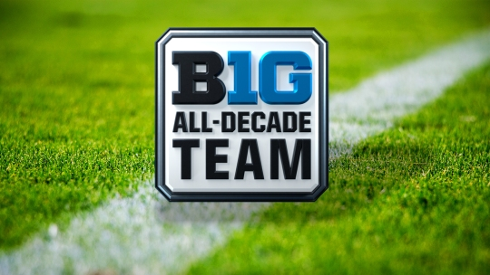 Big Ten Football All-Decade Football Team