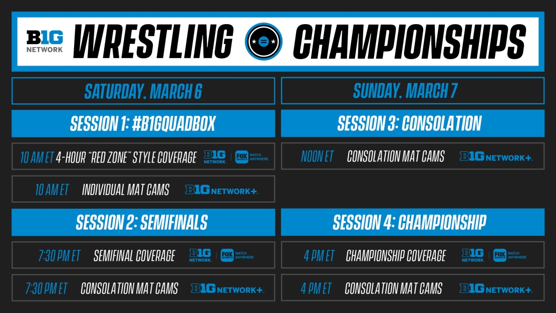Expanded live wrestling coverage